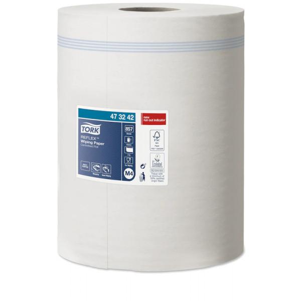 Бумажные полотенца с центральной вытяжкой TORK REFLEX 473242