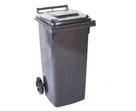 Контейнер для сміття 120л темно-сірий 8005