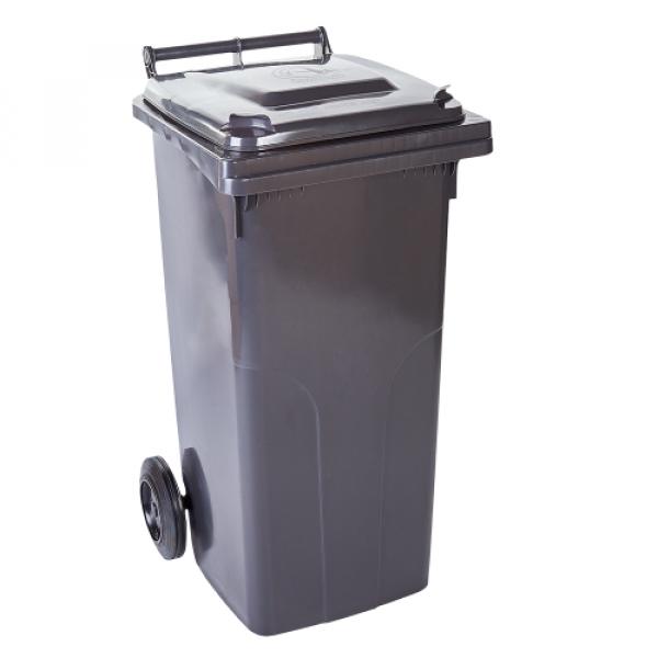 Контейнер для мусора 240л тёмно-серый  8006
