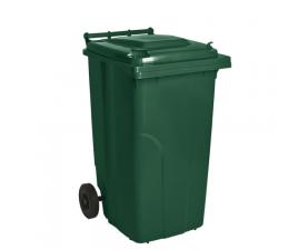 Контейнер для мусора 240л зелёный 1408