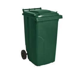Контейнер для сміття 240л зелений 1408