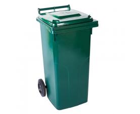 Контейнер для мусора 120л зелёный  1406