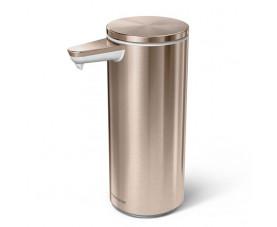 Дозатор жидкого мыла сенсорный розово-золотистый 0,26 л ST1046