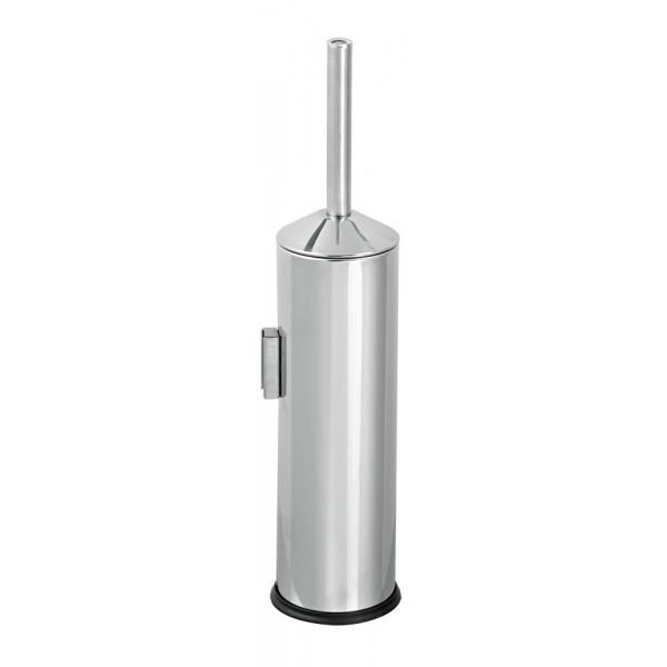 Щётка для унитаза нержавеющая сталь глянцевая настенная 369B