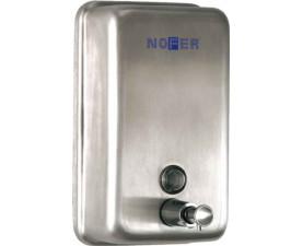 Дозатор жидкого мыла вертикальный матовый 03001.S