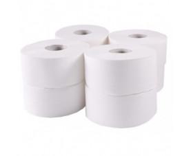 Туалетная бумага Джамбо целлюлозная белая 203021