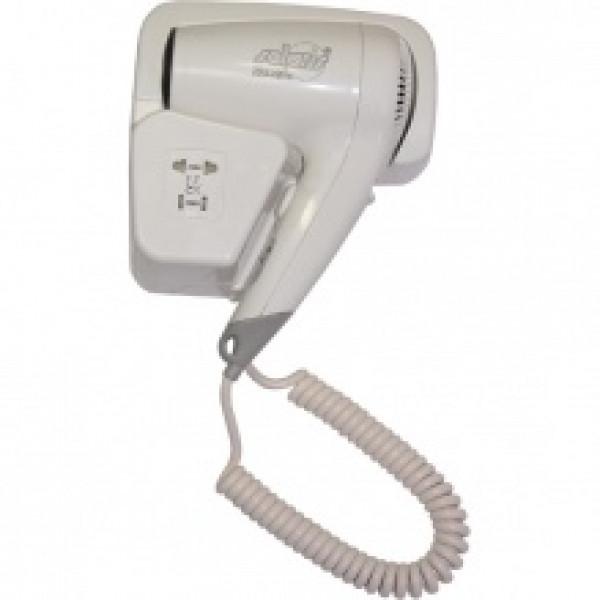 Фен для волос гостиничный c розеткой 2000Е (ZG-1004)