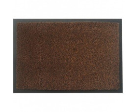 Килимок на гумовій основі з ворсом коричневий MOSS-Ch-120x180-BROWN