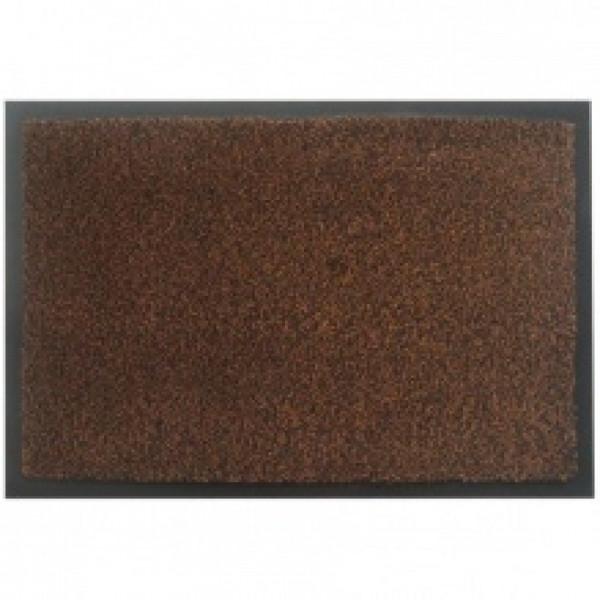 Коврик на резиновой основе с ворсом коричневый MOSS-Ch-120x180-BROWN