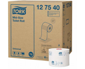 Туалетная бумага в рулонах Tork Universal 127540