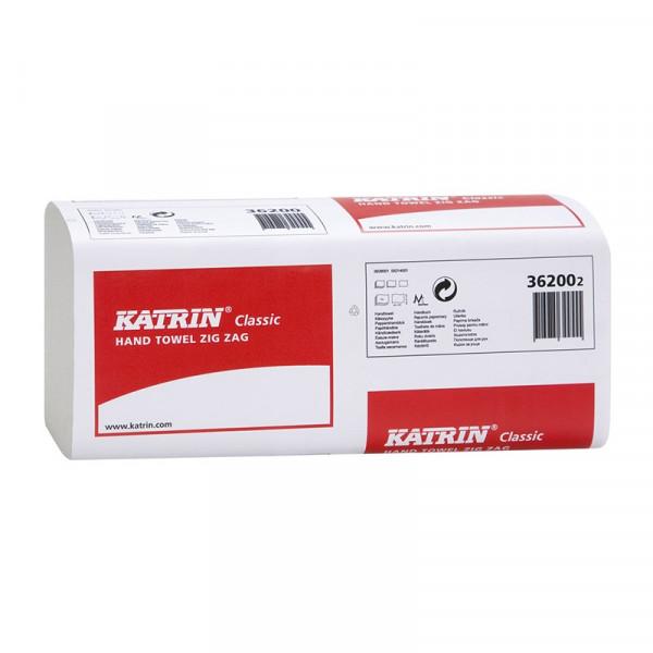 Полотенца бумажные Katrin Classic V-сложение 1сл 362002