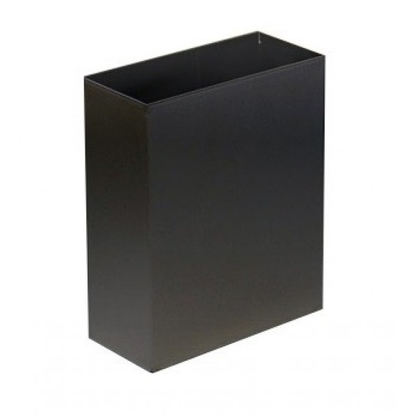 Корзина для мусора металл чёрная 6л M-106Black
