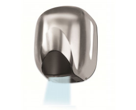 Сушилка для рук металлическая сатиновая VAMA ECOFLOW 550 SF