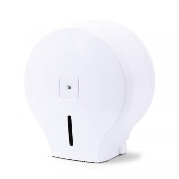 Диспенсер для туалетной бумаги джамбо белый пластик JTA 100