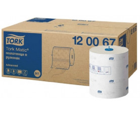 Бумажные полотенца в рулонах Tork Advanced 120067