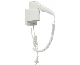 Фен для волос белый пластик SC0020