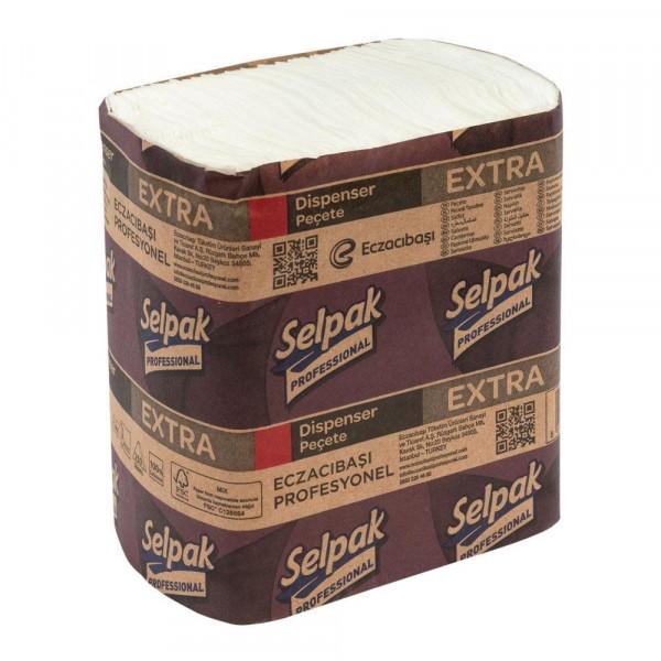 Салфетки для диспенсеров Selpak Professional Extra 7900073