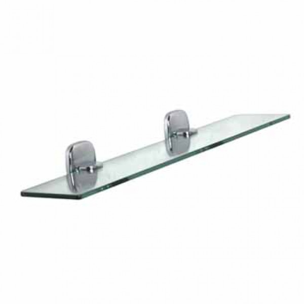 Полка стеклянная для ванной 7291