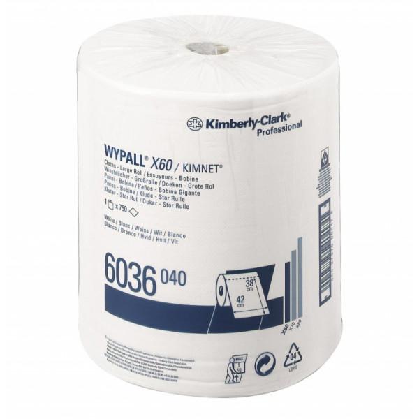 Протирочный нетканный материал WYPALL X60 6036
