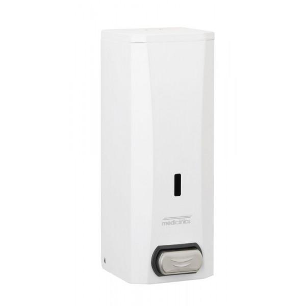 Дозатор жидкого мыла белый металл 1,5л DJ0040