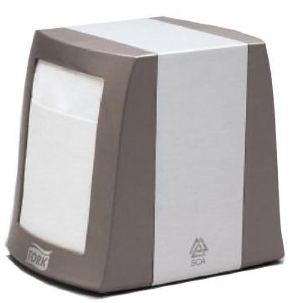 Диспенсер настольный для салфеток Tork алюминий 271800
