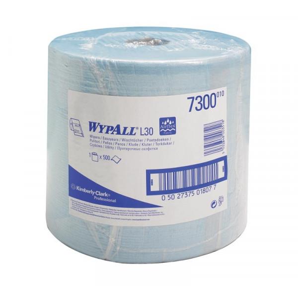 Бумажные протирочные салфетки WYPALL L30 синий 7300