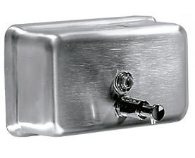 Дозатор жидкого мыла горизонтальный DJ0112CS