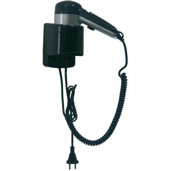 Фен для волос чёрный пластик SC0020CS
