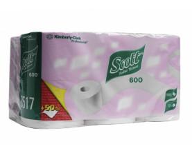 Туалетная бумага в рулонах SCOTT 8517