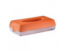 Держатель салфеток косметических оранжевый 687AR