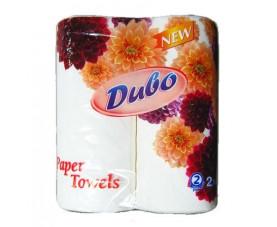 Бумажные полотенца в рулоне Диво 2 слоя