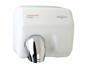 Сушилка для рук металлическая белая SANIFLOW Е05A