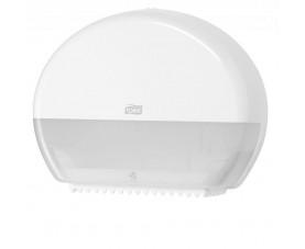 Диспенсер Tork для туалетного паперу в міні рулонах білий 555000