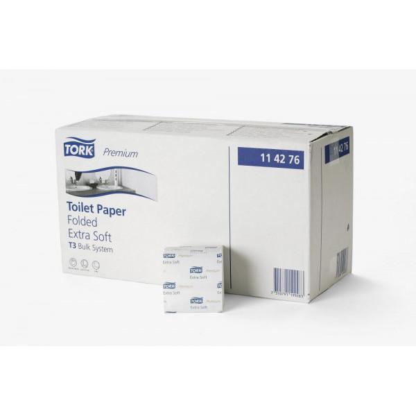 Туалетная бумага листовая Tork Premium супер мягкая 114276