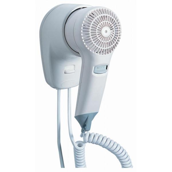 Фен для волос c креплением на стену белый пластик VAMA VIENTO 1