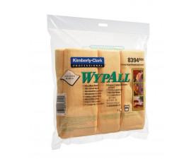 Протирочные салфетки из микрофибры WYPALL желтая 8394
