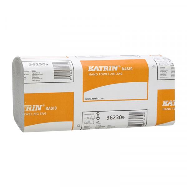 Полотенца бумажные Katrin Basic V-сложение 1сл 362309