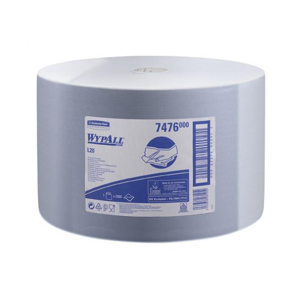 Бумажные протирочные салфетки WYPALL L20 синий 7476