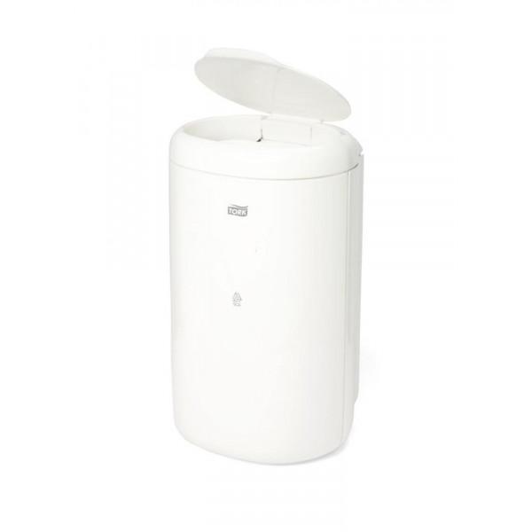 Корзина для мусора 5 л белая Tork 564000