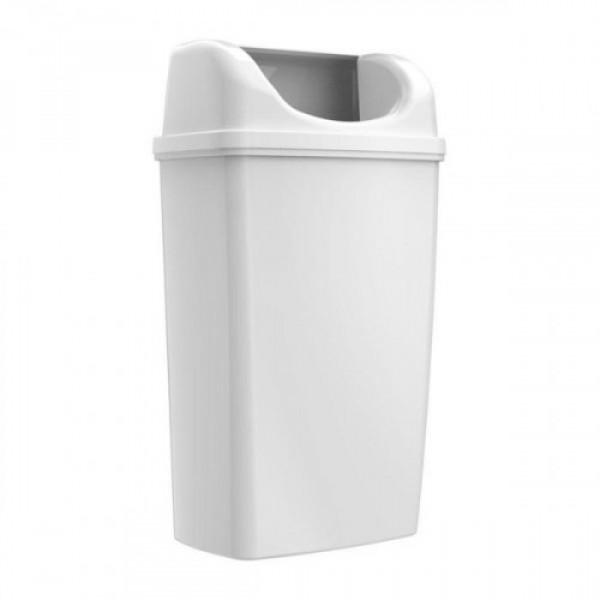 Урна для мусора белый пластик 50л TA0063W