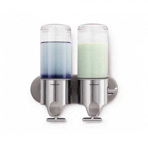 Дозатор жидкого мыла двойной 2*0,44 л  BT1028