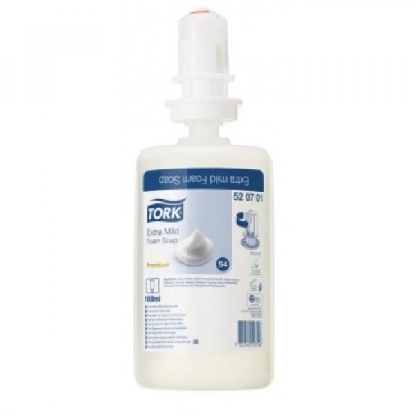 Жидкое мыло-пена картридж TORK PREMIUM 520701