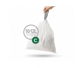 Мешки для мусора плотные с завязками 10-12л CW0252