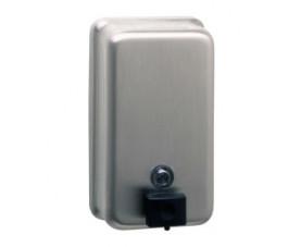 Дозатор жидкого мыла матовый 1,1л B-2111