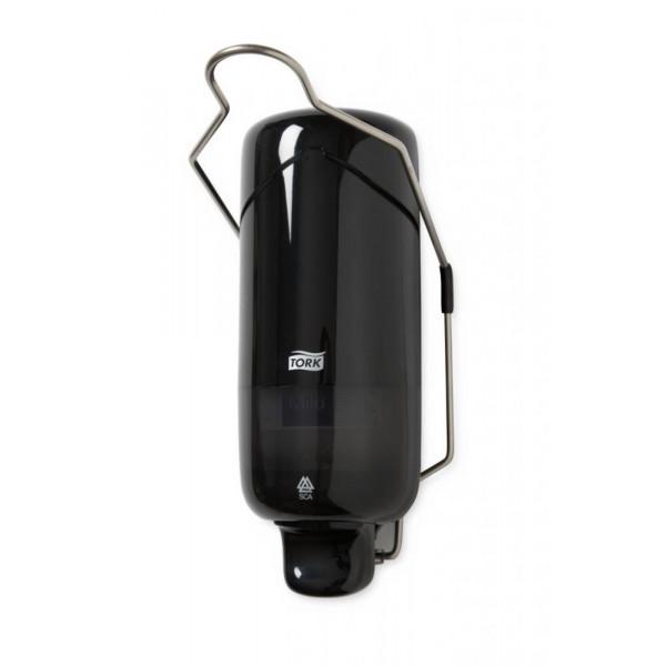 Диспенсер Макси для жидкого мыла с локтевым приводом Tork черный 560108