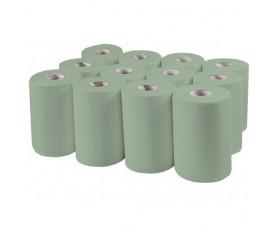 Полотенца в рулоне макулатурные зеленые Р-142 MINI