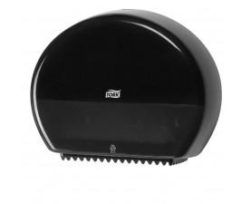 Диспенсер Tork для туалетной бумаги в мини рулонах черный 555008