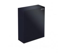 Урна для бумажных полотенец чёрная 16л M-116B