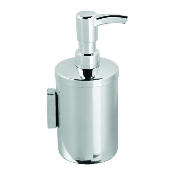 Дозатор жидкого мыла настенный нержавеющая сталь глянец 200 мл. 380