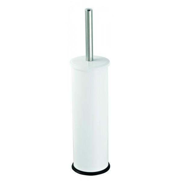 Щетка для унитаза напольная белый металл 831B